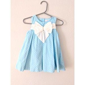 Janie and Jack baby blue dress